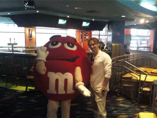 The week I landed, I got to hang at an M&M event with Ivan and RSJ.